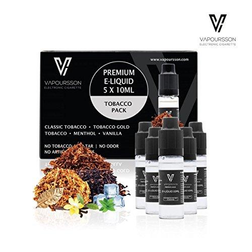 VAPOURSSON 5 x 10 ml E-líquido Tobacco...
