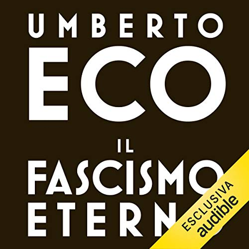 Il fascismo eterno cover art