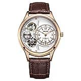 Relojes, Relojes de cronógrafo de Moda de Cuarzo para Hombres, Reloj de Pulsera analógico Impermeable para Hombres