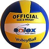 Volleyball Solex Team Sports - handgenähter strapazierfähiger Soft Ball, Gr. 5 Trainingsball in...