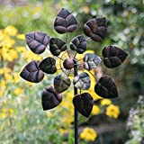 Creekwood Autumn Leaves Garden Wind Spinner-Copper (16 x 50 x 170 cm)