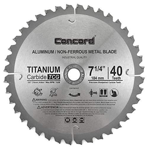 Concord Blades ACB1000T100HP 10-Inch 100 Teeth TCT Non-Ferrous Metal Saw Blade