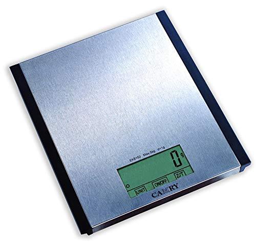 Team-Kalorik-Group Digitale Edelstahl-Küchenwaage ROMIX EKS 21 bis 5 kg, grammgenaue Einteilung
