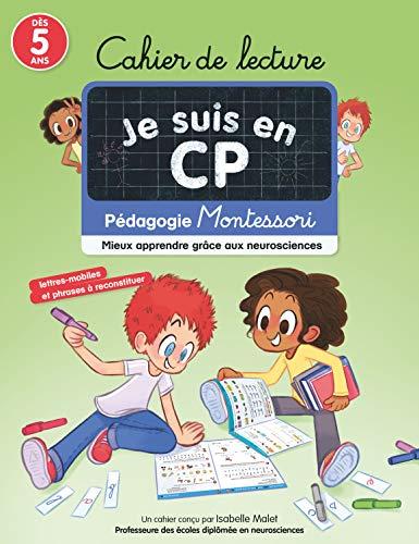Cahier de lecture CP méthode Montessori