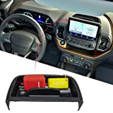 Carwiner Center Console Dash Storage Tray for 2021 Ford Bronco Sport CX430 Console Dashboard Organizer with Cellphone Holder Storage Box Insert Accessories