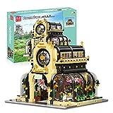 YBLOC Arquitectura Building Blocks Jardín Botánico Juegos De Construcción Modulares con Luces Led 2147 Piezas Bloques 3D Puzzle Modelo Juguetes Compatibles con Lego