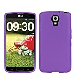 PimpCase Compatible with LG Volt LS740 Case, Clear Crystal Thin Slim Soft TPU Protective Cover with Transparent Bumper Gel CasePimpCase Compatible with LG Volt LS740 - Purple