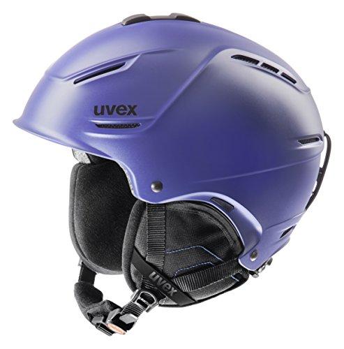 Uvex Unisex Skihelm p1us, indigo mat, 52-55 cm, 5661534103