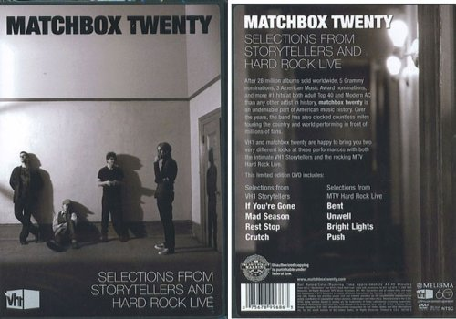 Matchbox Twenty Selections From Storytellers And Hard Rock Live