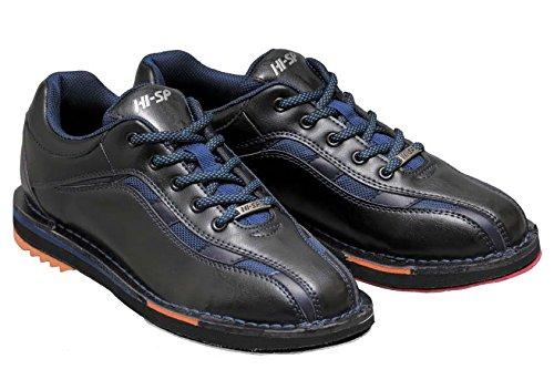 HI-SP ボウリング シューズ HS-925 ブラック・ネイビー 24.0cm ハイ スポーツ ボウリング用品 靴 ボーリング グッズ