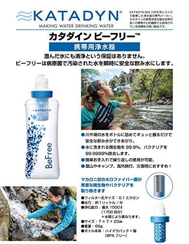 KATADYN(カタダイン)高性能浄水器BeFreeビーフリー12792