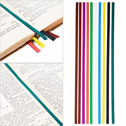 Colorful Ribbon Bookmark Ribbons Replacement Ribbons for Novel School Books (20)