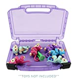 Life Made Better Toy Storage Carrying Box. Compatible Fingerlings Case, Figures Playset Organizer. Accessories for Kids by LMB