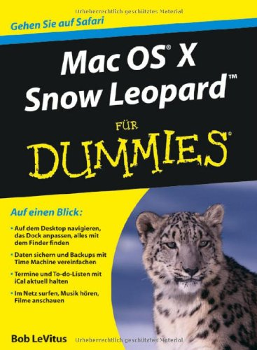 Download Mac OS X Snow Leopard für Dummies 352770566X