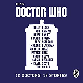 Doctor Who: 12 Doctors 12 Stories audiobook cover art