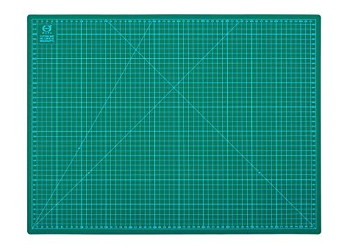 DAFA Professional 24quot x 18quot SelfHealing DoubleSided Cutting Mat Rotary Blade Compatible 36x24 24x18 18x12 12x9 Sizes for Sewing Quilting Arts amp Crafts