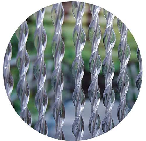 La Tenda Türvorhang, transparent-grau, 90x210cm