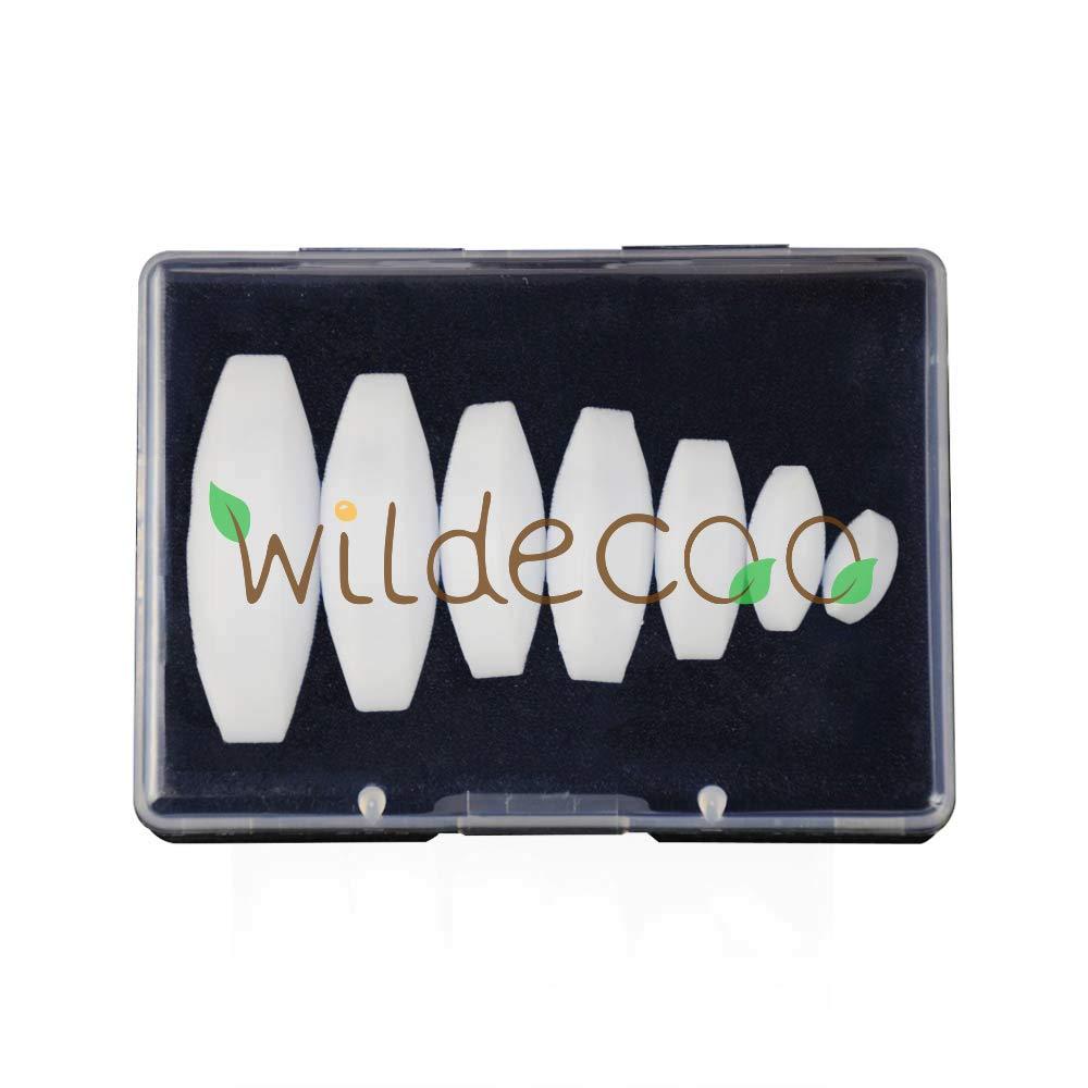 7 PCS Stir Plate Bar//Rod for Lab Magnet Mixer PTFE Magnetic Stirrer Bar A Type Olive Shape Teflon Stir Bar Set