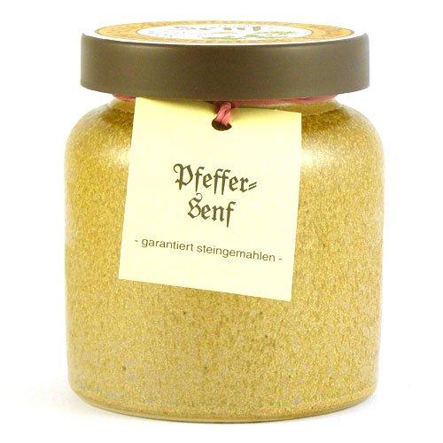 Senfmühle Kleinhettstedt Pfeffersenf - 270 ml