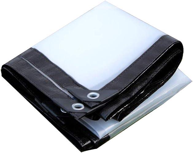 XRFHZT Bache Transparente Tissu imperméable Tissu imperméable Tissu épais en Plastique Tissu Pluie Pare-Pluie Tissu imperméable Tissu imperméable bache de Pluie,4m6m