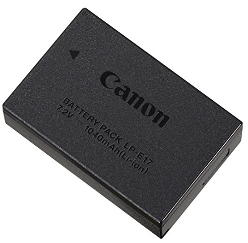 Canon LP-E17 Camera/Camcorder Battery Lithium-Ion (Li-Ion) 1040 mAh - Camera/Camcorder Batteries (Lithium-Ion (Li-Ion), 1040 mAh, Kamera, Canon, EOS 8000D/EOS Kiss X8i/EOS M3, 7,2 V)