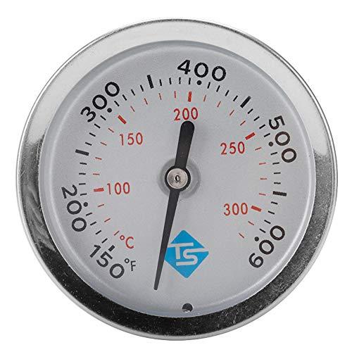Ryoizen BBQ Thermometer zur Garraumtemperaturmessung, für den Grill/Smoker, aus Edelstahl 4.6 * 4.6 * 4.6cm