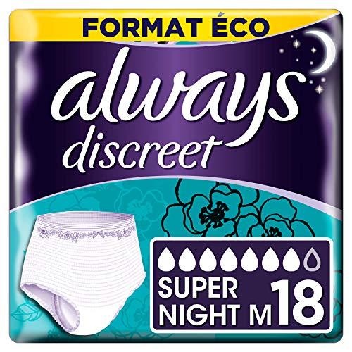 Always Discreet Unterhose für Inkontinenz/Blasenschwäche