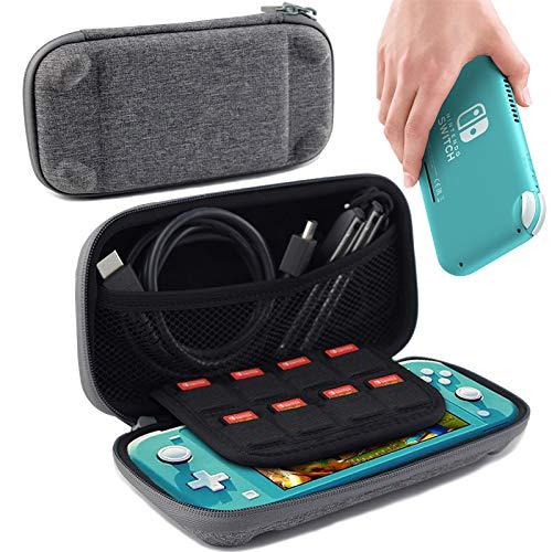 Sxgyubt Aufbewahrungskoffer für Switch Lite Spielkonsole, rechteckig, EVA, stoßfest, siehe abbildung, One size