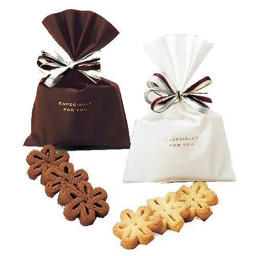 プチギフト お菓子 退職 バレンタイン 義理 チョコ かわいい『エスペシャリー 花のクッキー』ありがとう お返し会社 挨拶 結婚式 個包装 大量 業務用 (15個セット)