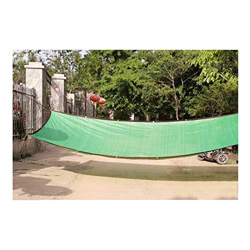 CAIJUN Red De Sombra Jardín Rectángulo Vela De Sombra Cubierta Vegetal por Exterior Planta, Protector Solar Visera Invernadero por Planta De Flor Tamaño Personalizado (Color : Green, Size : 4x5m)