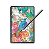 ausleben Feel Paper screen protector for Samsung Glaxy tab S7 plus, 2020, 12.4 inch, SM-T970/t975, Matt Paper-Textur film as writting on paper, anti-Glare,PET Film for Drawing,Compatible with S-pen