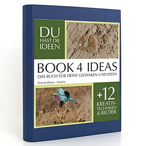 BOOK 4 IDEAS classic | Etoscha Pfanne - Namibia, Eintragbuch mit Bildern