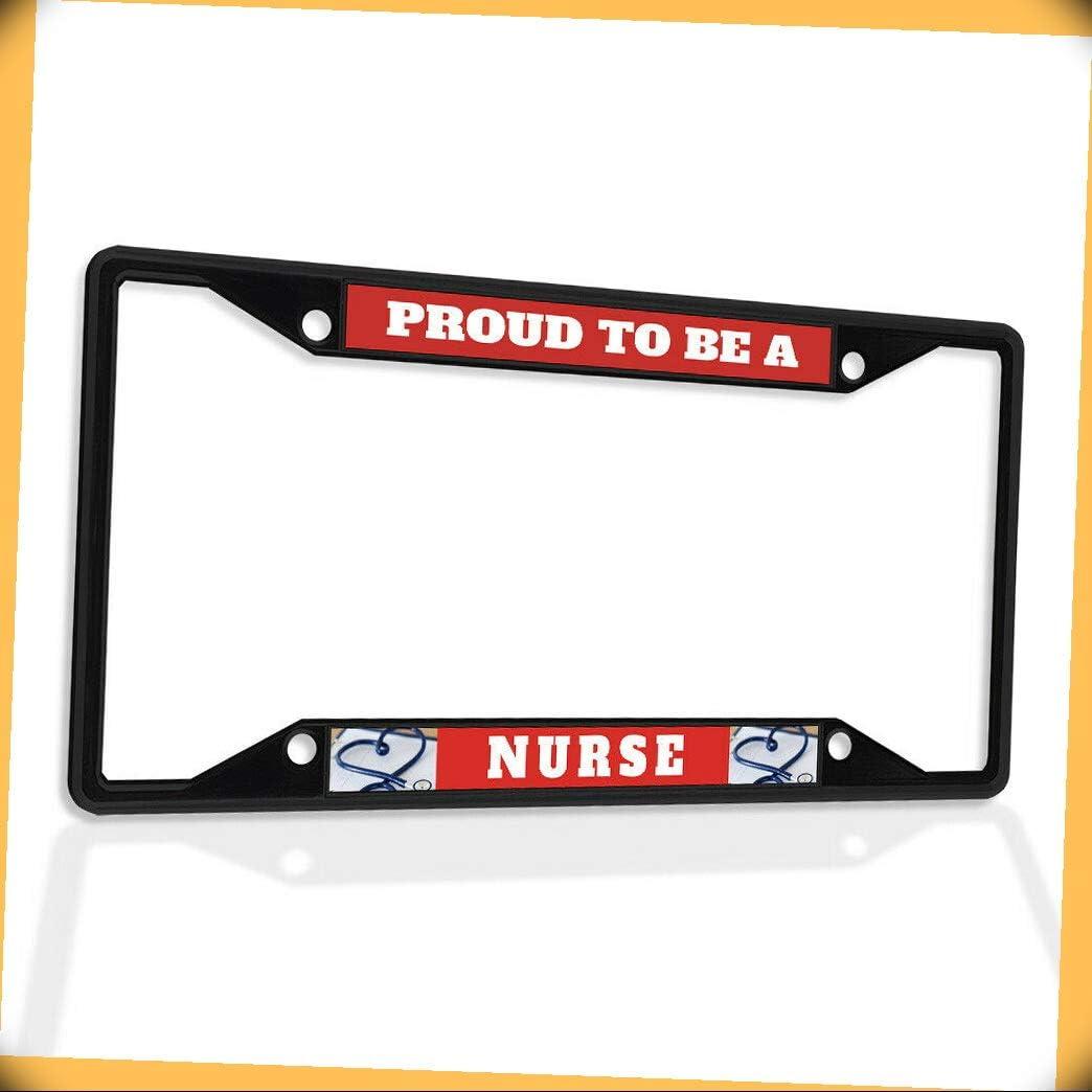 New Cheap sale Metal Aluminum Alloy Black Ranking TOP19 B4K Insert License Frame Pr Plate