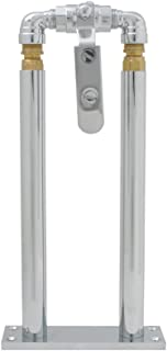 """Grand General 69982 Chrome 11"""" Floor Mount Stand and Air Valve Lever Set for 69991 Train Horn"""