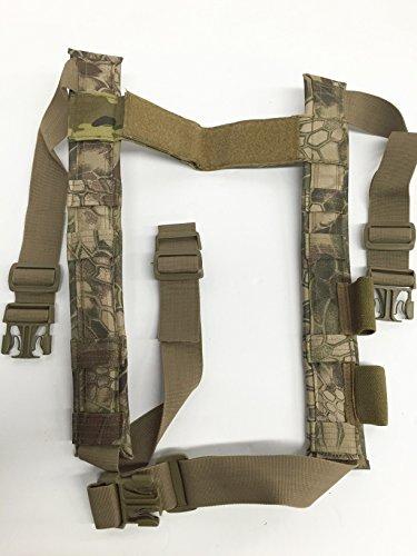 Hi-Tech Custom's Shotgun Padded H-Harness for Our Rapid Response Mini-Rig Vest (Kryptek Camo)