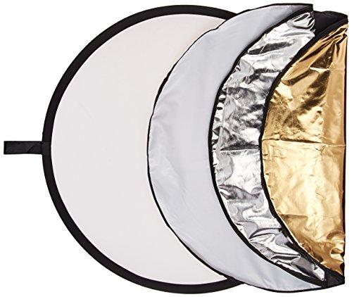 Polaroid Pro Studio - Disco Reflector Circular Plegable (5 en 1, 32...