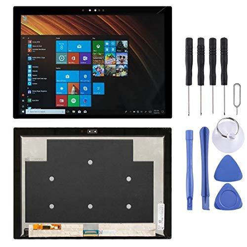 A+Xu Jie Pantalla LCD y digitalizador Asamblea Completa for Lenovo MIix 630 (Color : Black)