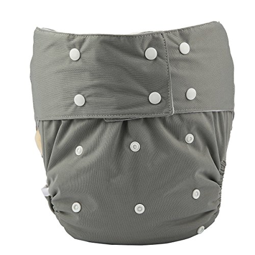 Adult Cloth Diaper Cover Nappy Reusable Washable Adjustable for Disability...