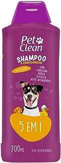 shampoo para cães e gatos 5 em 1 pet look 700ml