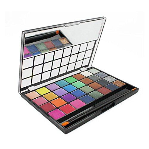 Pure Vie® 32 Colores Sombra De Ojos Paleta de Maquillaje Cosmética #1 - Perfecto para Sso Profesional y Diario