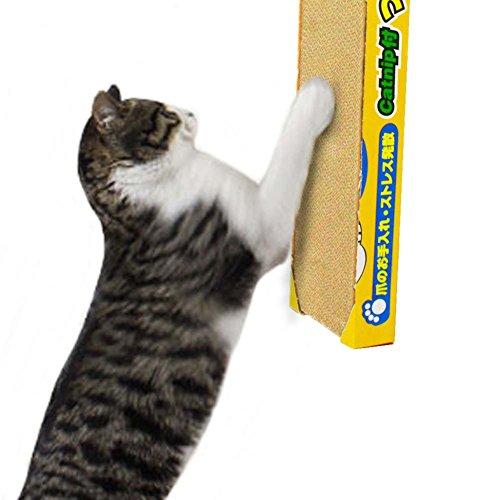 MRXUE Cat krasplank - gegolfd papier kattenspeelplank - lanyard kattenhuis kattenkooi - scheurbaar ophangend plat bord