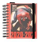 ERIK - Agenda escolar 2020/2021 día página M Marvel Classic, 11 meses (14x16 cm)