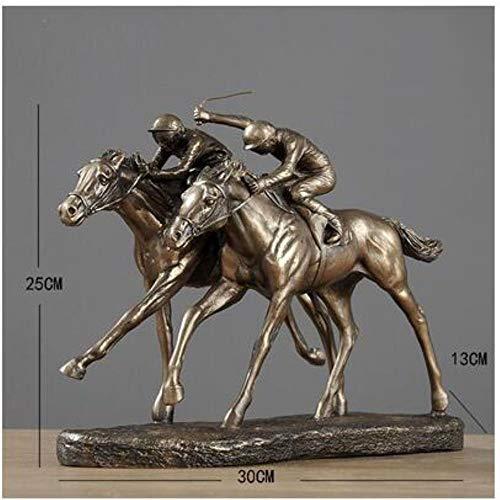 WHRP Skulptur, Bronzefigur, europäische Harzfigur, Diskkuswerfer, Sportler, Sport-Statue, Zuhause, Wohnzimmer, Büro, Möbel, Dekoration, Handwerk