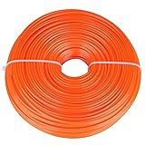 Zerodis Regolatore del Filo di Benzina della Corda della Stringa del Quadrato del Cavo di Nylon della Linea del regolatore del Cavo di 2.4mm(100m)