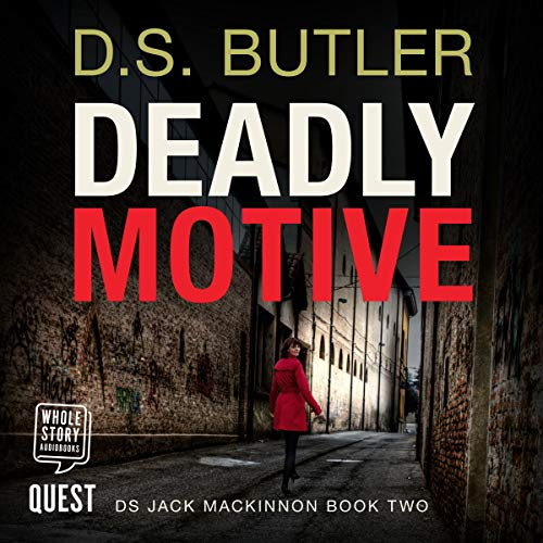 Deadly Motive audiobook cover art