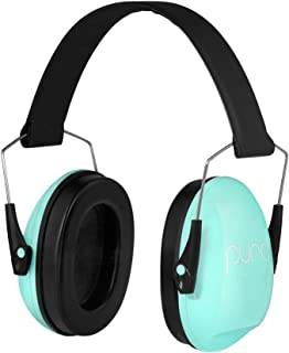 Puro Sound Labs PuroCalm Kids Earmuffs 27 dB NRR Noise Reduction for Hearing Protection with Padded Snug Fit, Lightweight, Adjustable, Foldable and Portable for 3-16 Years Children - Green