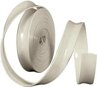 Camco 25222 Vinyl Einsatz, 2,5 cm x 30 m, Colonial White, beige