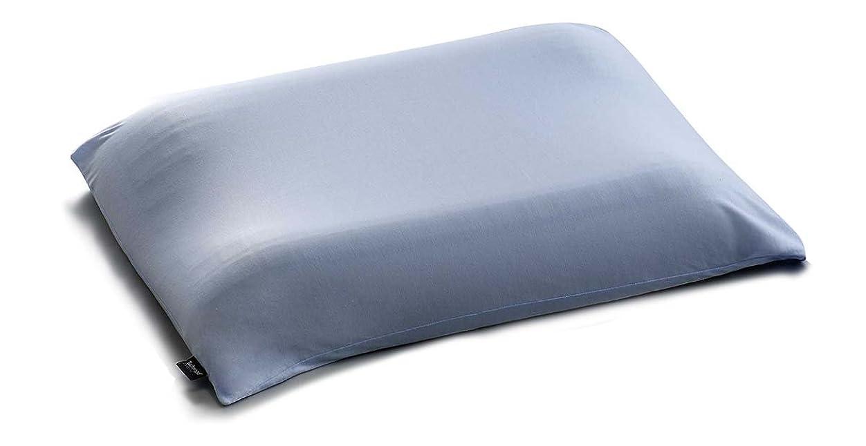 移植ユニークな足テクノジェルピロー専用プラチナコットンの枕カバー ラベンダーブルー
