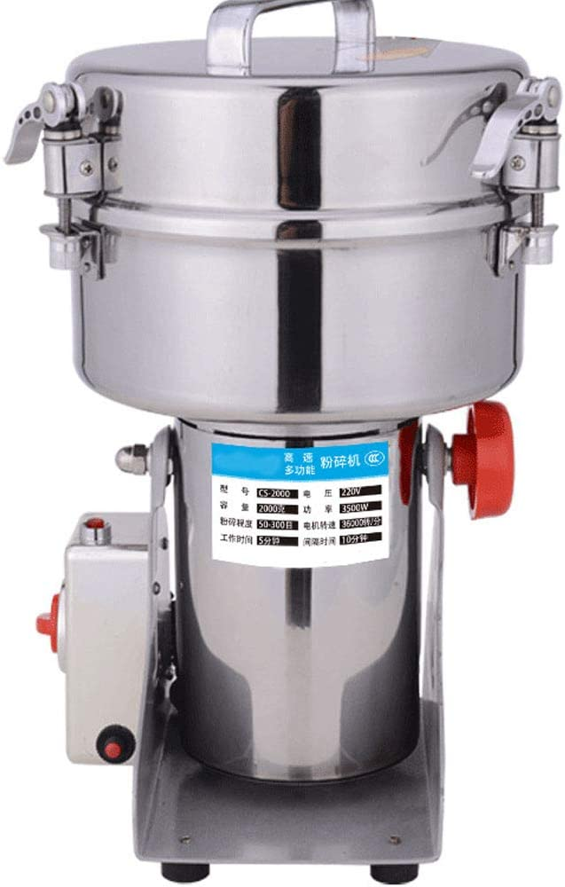 2000G Electric Grain Year-end annual account Mill Grinder Detroit Mall for Powder Type Swing Machine