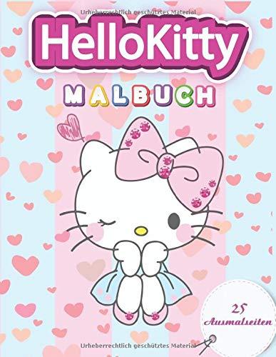 Hello Kitty Malbuch: Besondere Malseiten mit Ihren Lieblings - Hello Kitty